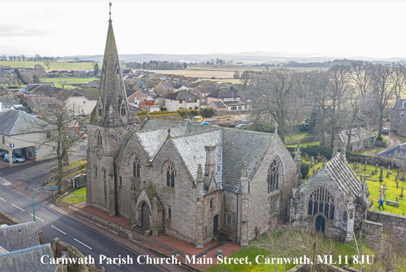 Former church in Carnwath, Lanarkshire