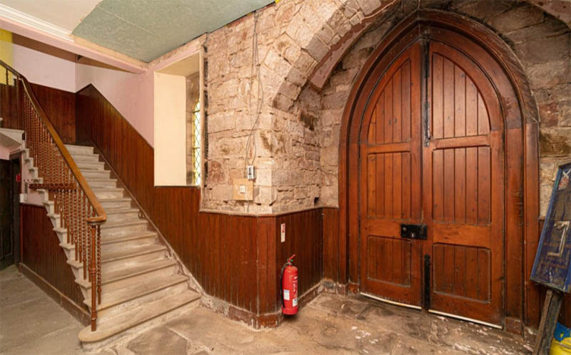Stone built church for sale in the village of Carnwath, South Lanarkshire