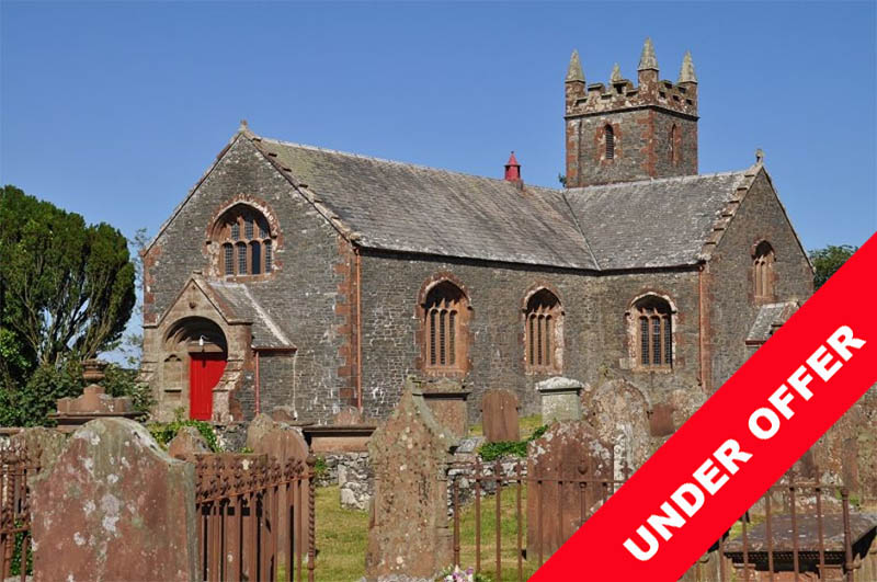 Gothic church for sale Borgue, Kirkcudbright