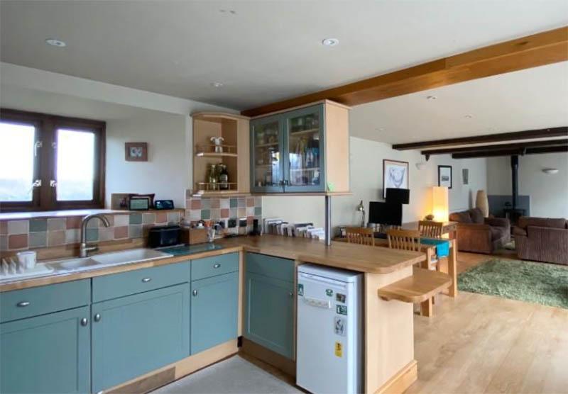 Three bedroom barn conversion in Washford, Somerset