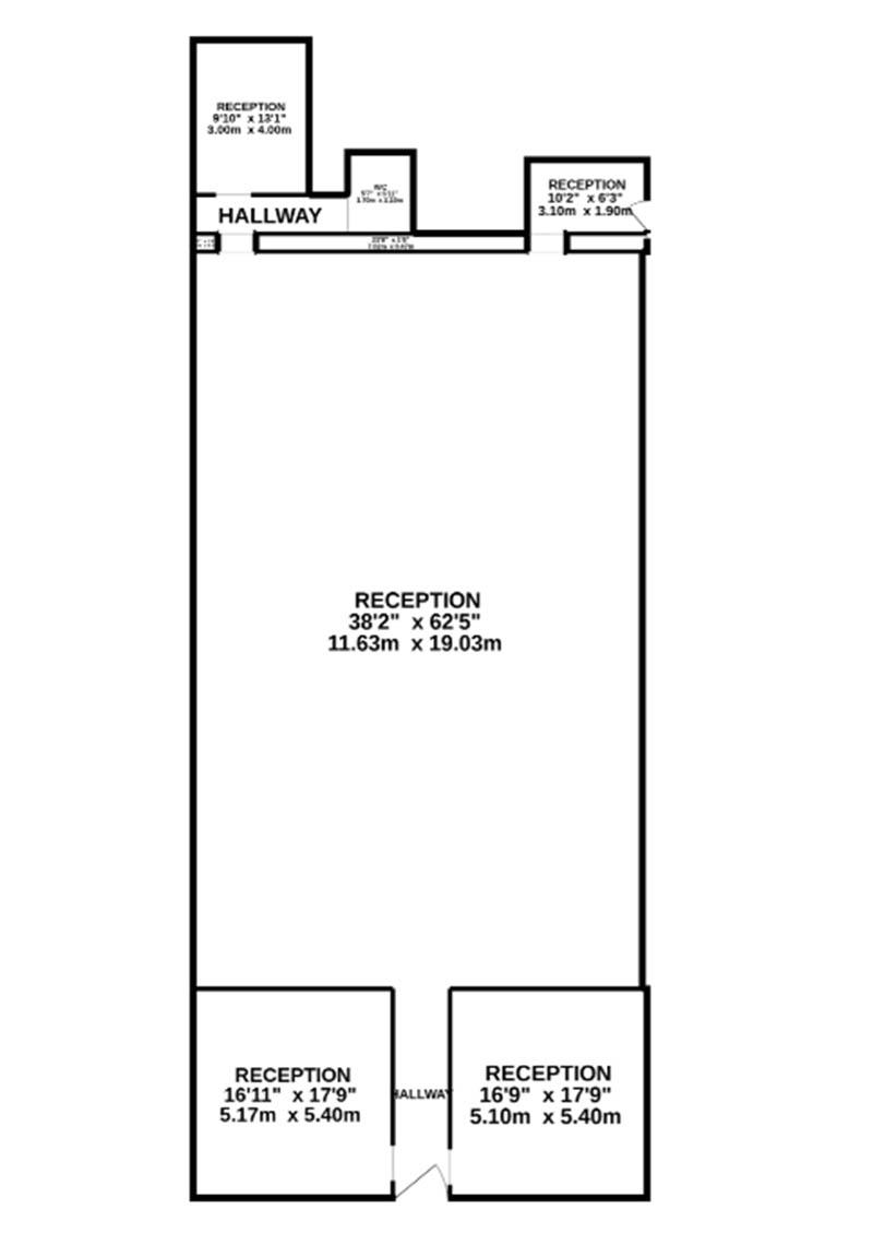 Floorplan of Former church for sale in Kelso, Scottish Borders