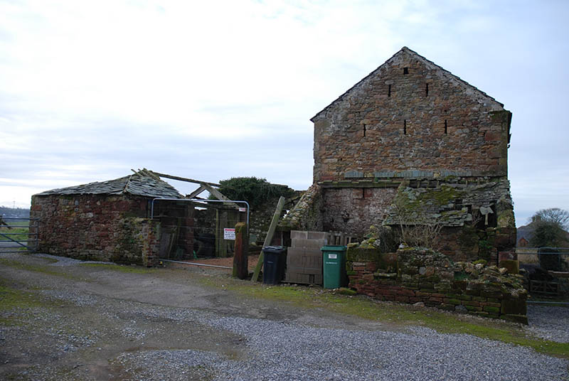 Substantial, unconverted barn with planning permission in Oughterside, Cumbria