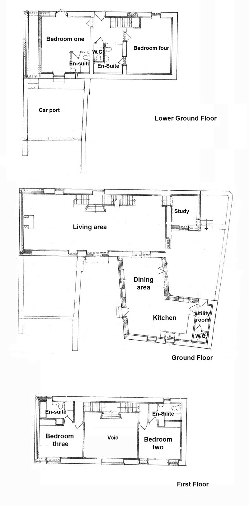 Floorplan of Unconverted barn for sale near Cockermouth, Cumbria