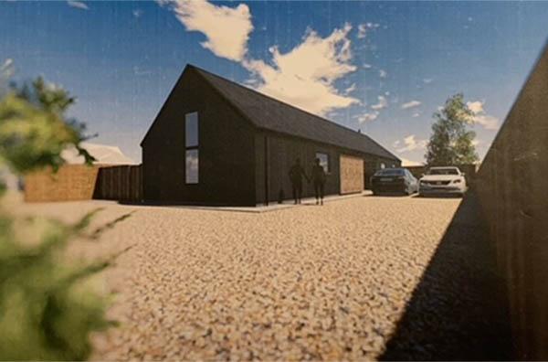 Plot for sale in Parson Drove, Peterborough