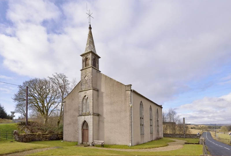 Unconverted church for sale Eskdalemuir, Langholm