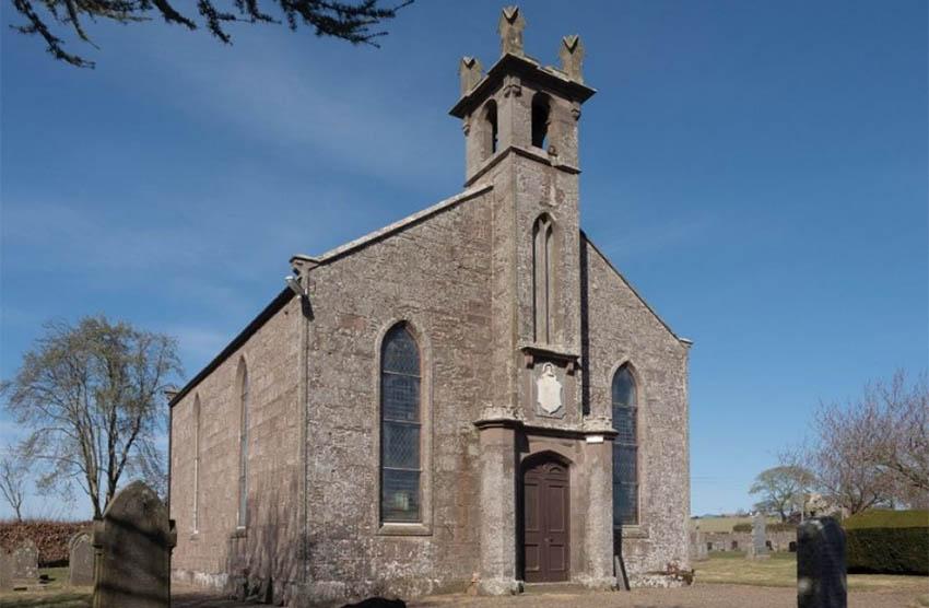 Redundant church for sale, Dun, Montrose