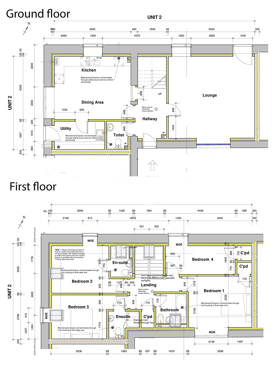 Floorplan of New barn conversion, Holsworthy, Devon