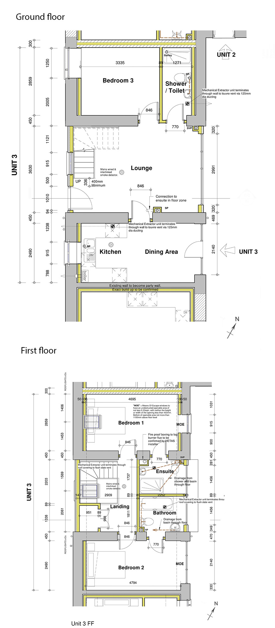 Floorplan of Barn for sale near Holsworthy, Devon