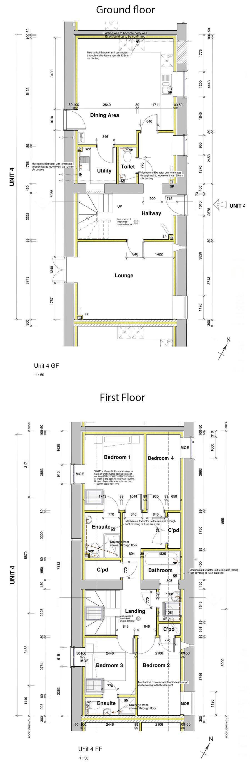 Floorplan of Barn conversion for sale Holsworthy near Bude