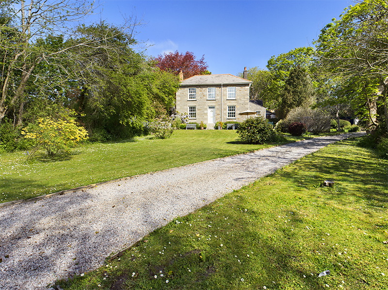Georgian property for sale South Tehidy, Cornwall