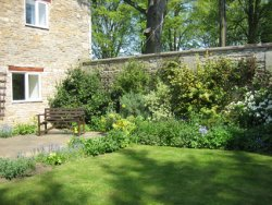 Converted stone barn in Exton, four miles from Oakham in Rutland