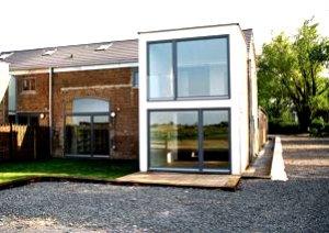 Contemporary barn conversion near Ely, Cambridgeshire