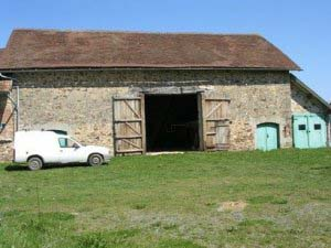 Unconverted Barn For Sale Tronget  Aquitaine