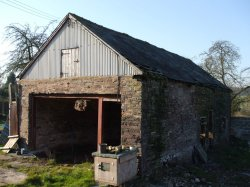 Barn For Conversion In Powys Wales