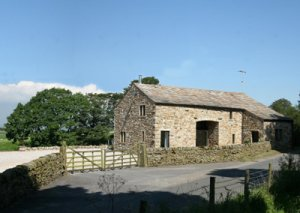 Converted barn for sale near Clitheroe, Lancashire
