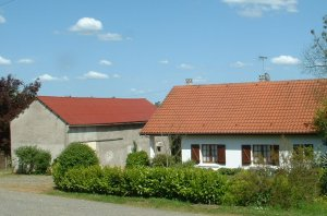 Bernaise style chalet and unconverted barn near Lembeye,  France