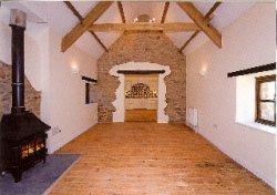 Barn conversion in Middle Marwood, near Barnstaple, North Devon