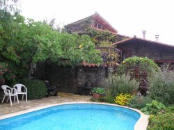 Barn conversion with swimming pool in the Pyrenees Orientales, France
