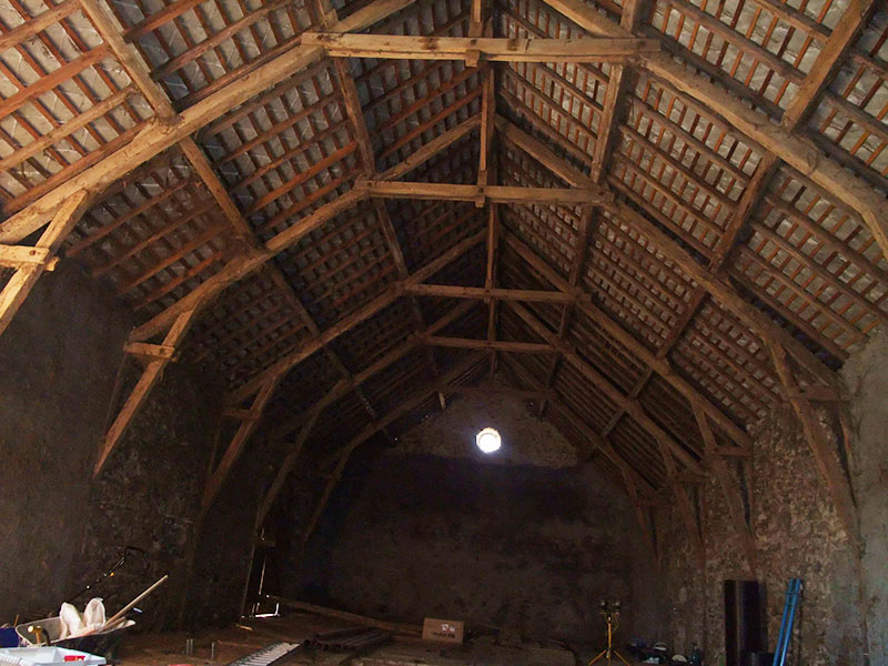 Unconverted Barn In The Auvergne