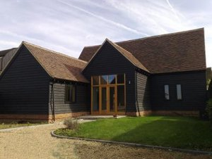 Hertfordshire Barn Conversion With Geothermal Heating
