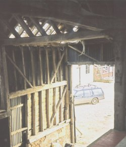 Timber Frame Of Barn For Sale