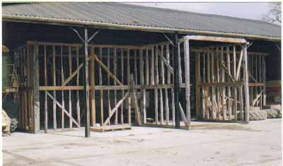 Barn frame for sale in Bures, Suffolk