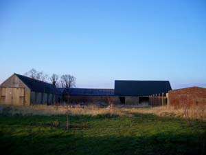 Unconverted barn at Christchurch, near Ely