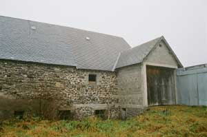 Barn for conversion near St Sauves d'Auvergne in the Puy de Dome department, France