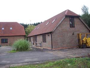 Converted barns Sussex