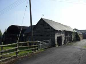 Unconverted Barn With Planning Permission For Sale In Shropshire / Cheshire Border