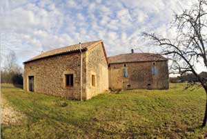 Unconverted barn  in Le Vignal, Aquitaine, France