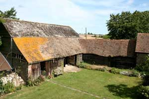 Unconverted Threshing Barn In Kent For Sale