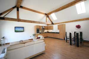 Newly Converted Barn Conversion In Dagnall Herts For Sale