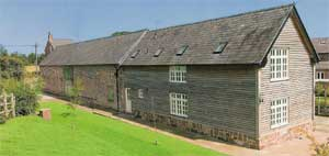 Converted Cruck Barn Cheshire