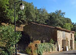 Partly converted barn in Languedoc, France