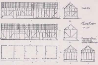 Barn frame for sale in Halesworth, Suffolk
